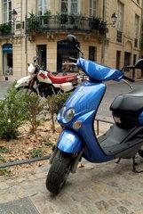 Zweiraeder in Montpellier