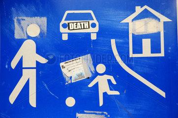 Verkehrsschild Verkehrsberuhigter Bereich