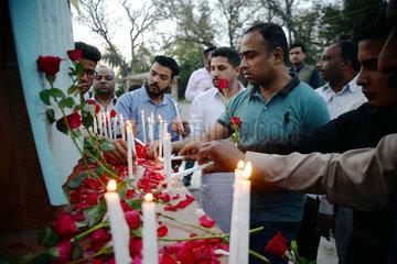 PAKISTAN-PESHAWAR-SRI LANKA-ATTACK-PRAYING