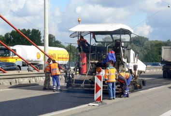 Fahrbahnsanierung Autobahnbruecke A 565