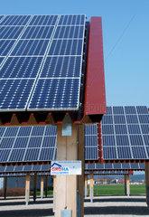 Solarkraftwerk in Fellheim