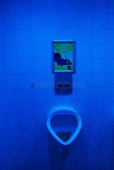 UV-Toiletten-Beleuchtung