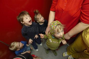 Kindergarten fuer entwicklungsgestoerte Kinder in Budapest