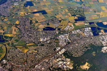 Troisdorf Luftaufnahme