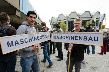 Semesterbeginn an der Ruhruniversitaet Bochum