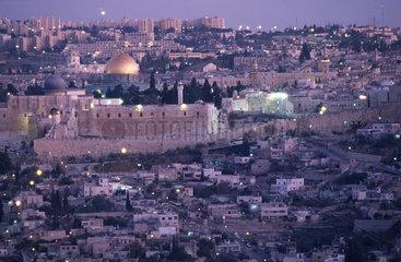Jerusalem am Abend