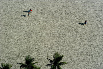 Copacabana bei Rio de Janeiro  Brasilien