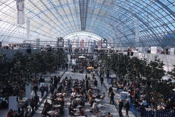 Besucherandrang bei der Leipziger Buchmesse