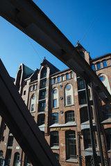 Historische Speicherstadt in der Hafencity