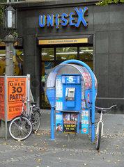 Blue Stop Muenzfernsprecher
