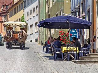 Kutschfahrte in Rothenburg ob der Tauber