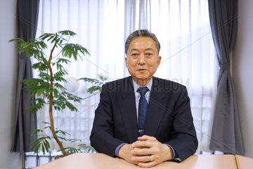 JAPAN-TOKYO-YUKIO HATOYAMA-INTERVIEW