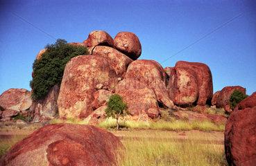 Australien  Devil's Marbles