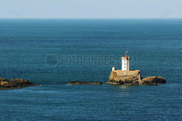 Lighthouse  Brittany  France