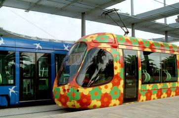 Strassenbahnen in Montpellier