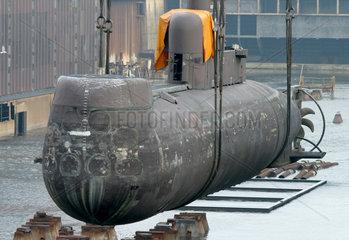 Kiel  Ausgemustertes U-Boot U21