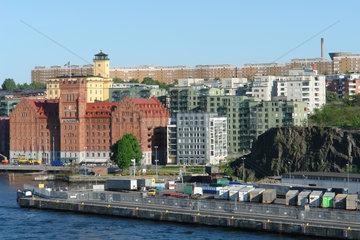 Kvarnholmen und Jarlaberg in Stockholm  Schweden