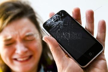 Kaputtes iPhone Handy
