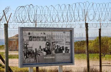 Suedafrika: Gefaengnisinsel Robben Island vor Kapstadt