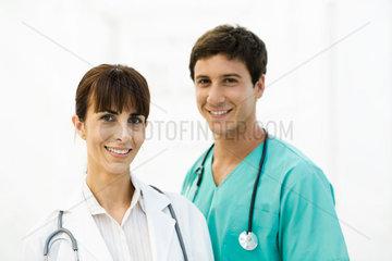 Health care professionals  portrait