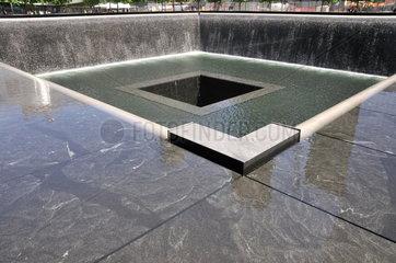 Memorial World Trade Center am Ground Zero
