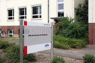 LWL-Archivamt fuer Westfalen in Muenster