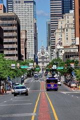 Market Street in Philadelphia