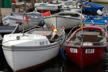 Fischerboote auf Fehmarn