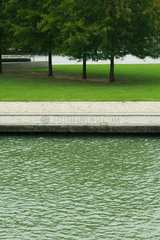 Tranquil park scene