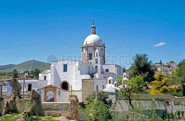 Spanische Kolonialkirche in der mexikanischen Provinz Morelos