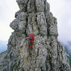 Hindelanger Klettersteig im Allgaeu