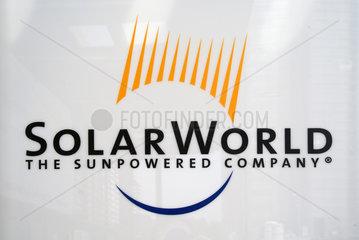Solarworld Hauptversammlung 2009