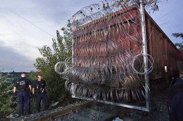 Ungarn  Schliessung der Grenze zu Serbien