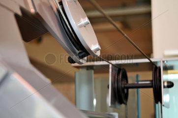 Fitness-Geraet in einem Sportstudio