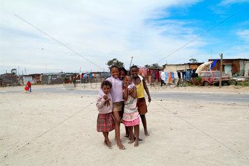 Kinder im Township Nyanga