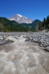 Nisqually River im Mount Rainier Nationalpark