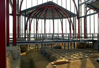 Xanten: Grosse Therme im Archaeologischen Park
