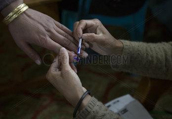 KASHMIR-SRINAGAR-INDIAN GENERAL ELECTION