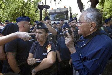 Widerstand gegen den Umbau des Stadtparks Budapest