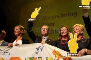 Wahlkongress der NVA (Nieuw-Vlaamse Alliantie)