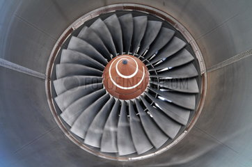 Triebwerk Rolls Royce TRENT 500 eines Airbus A340-600