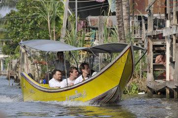 Thailand: Wassertaxi Damnoen Saduak