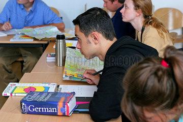 Deutschkurs fuer auslaendische Studenten  Uni Bonn