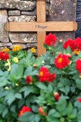Grab von Frere Roger in Taize