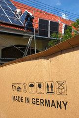 Solarmodule aus Deutscher Produktion
