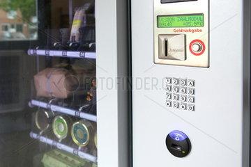 Verkaufsautomat auf einem Bauernhof