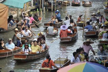 Thailand: Schwimmender Markt in Damnoen Saduak