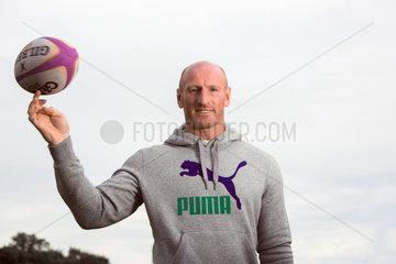Berlin  Deutschland  Gareth Thomas  ehemaliger walisischer Rugby-Spieler