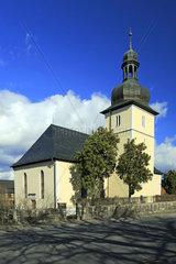 Juedeweiner Kirche in Poessneck  Thueringen  Deutschland