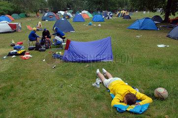 Berlin  Tent Station  Campingplatz